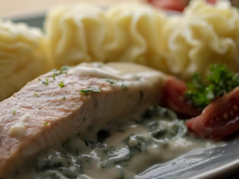 Suggestie van de Chef: Zalmfilet & 2 nieuwe soepen