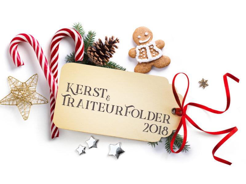 Kerst & Traiteurfolder 2018