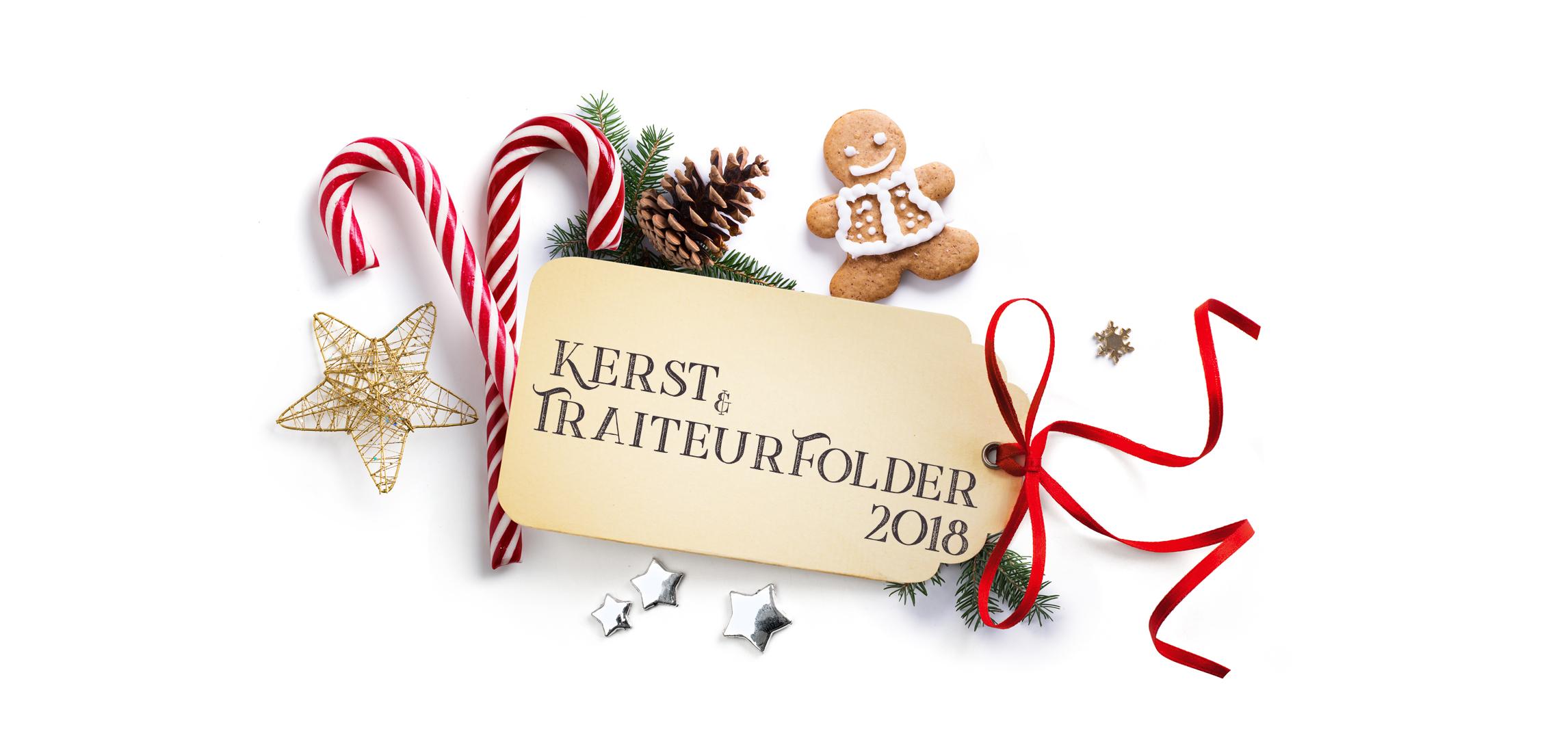 Kerst Traiteurfolder 2018 Carl Bakkerij