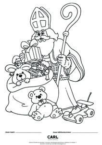 carl bakkerij tekenwedstrijd sinterklaas