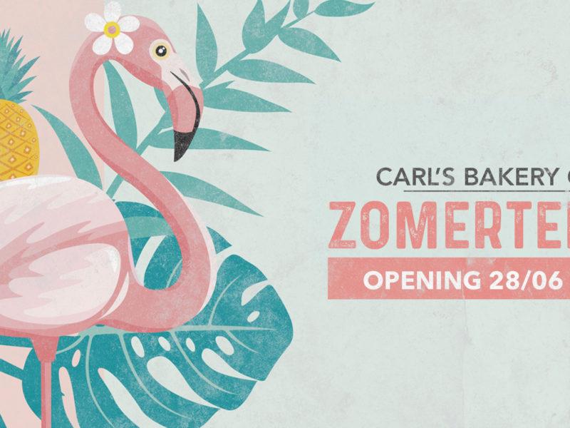 28 JUNI: OPENING ZOMERTERRAS