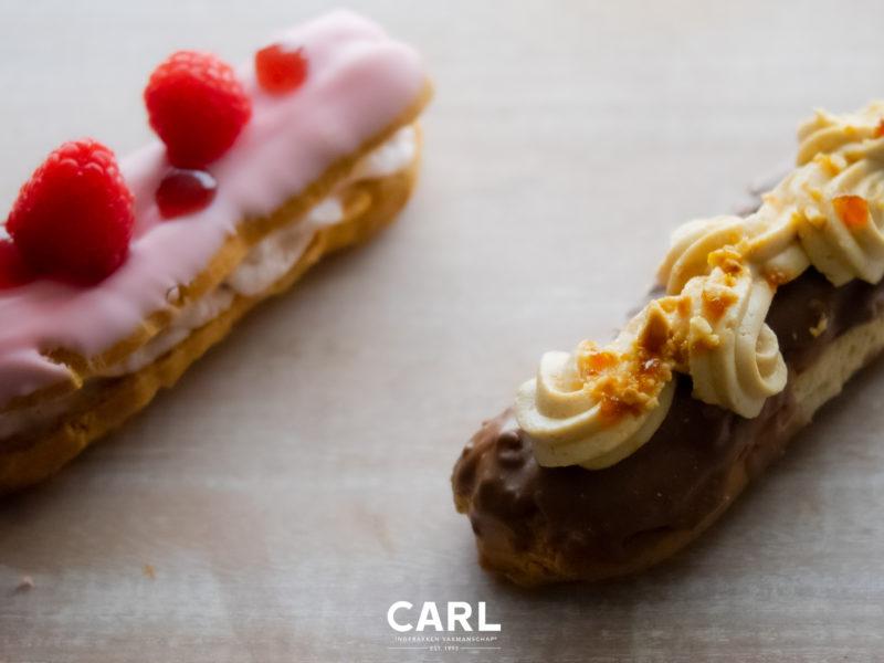 WEEK VAN DE ECLAIR: FRAMBOOS & HAZELNOOT