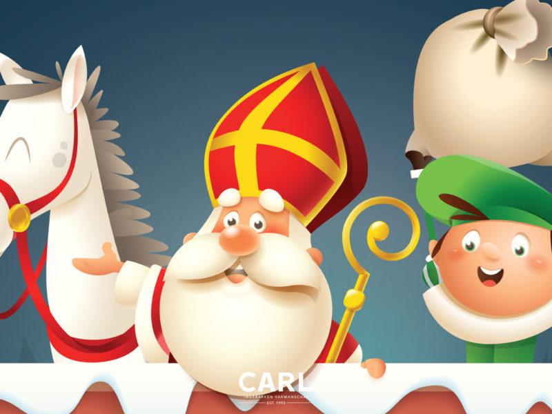 Tekenwedstrijd Sinterklaas